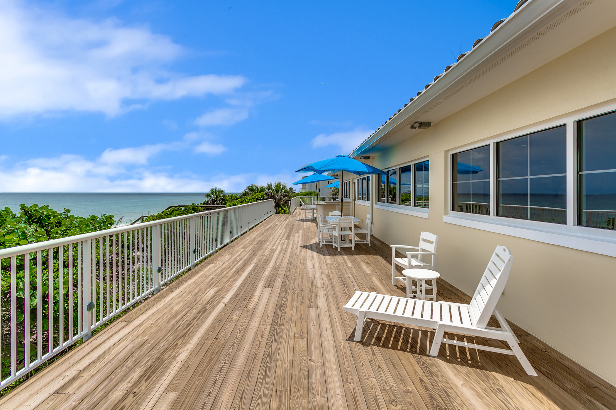 OCEANFRONT CLUBHOUSE – Now Open!!
